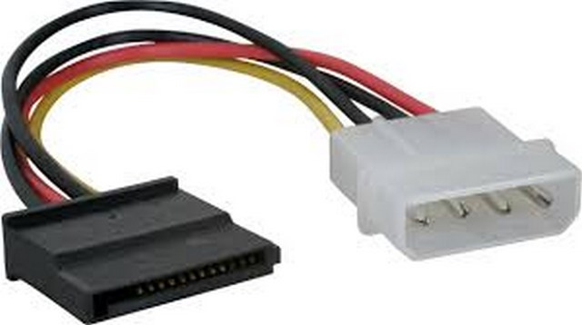 Cable Alimentation Molex SATA